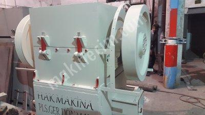 Plastik Kırma Makinası 60 80 100 120 Lik Kırma Stoktan Teslim