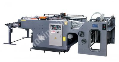 Jb 780 - Tam Otomatik Yarım Tur Kazanlı Serigrafi Baskı Makinesi