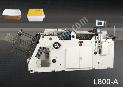 L 800A   Kutu Ve Karton Tepsi Kurma Makinesi