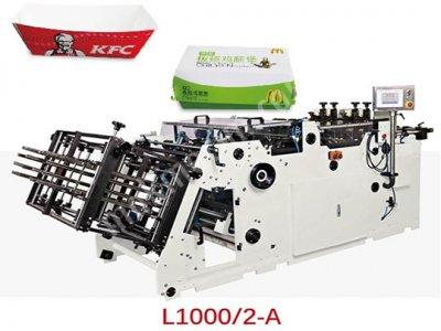 L 1000 2A   Kutu Ve Karton Tepsi Kurma Makinesi