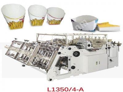 L 1350 4A   Kutu Ve Karton Tepsi Kurma Makinesi