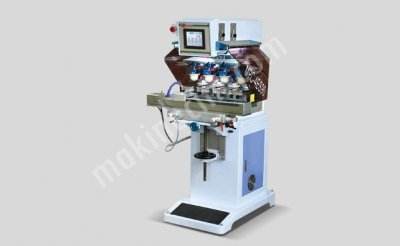 Pad Printing Machine 4 Color / Close Ink Tray