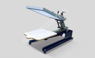 T-Shırt Baskı Aparatı/ Tek Kafa Ahtapot Baskı Makinesi