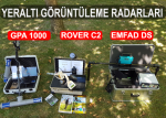 TOPRAKALTI RADARLARI, SATILIK, KİRALIK, EMFAD DS, A5 GOLD FİNDER