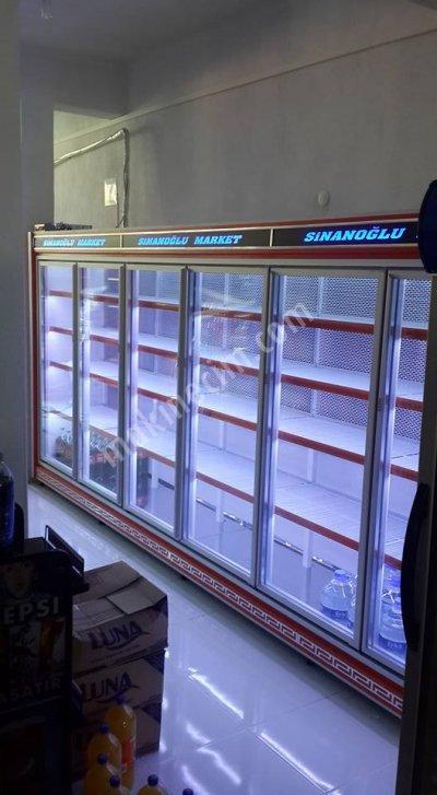 Satılık Sıfır Sütlük Buzdolabı Www.senoloncu.com Fiyatları Manisa sütlük dolabı.sütlük reyonu