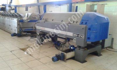 2 Fazlı Ekolojik Sistem 80 Ton/gün Zeytinyağı Makinası