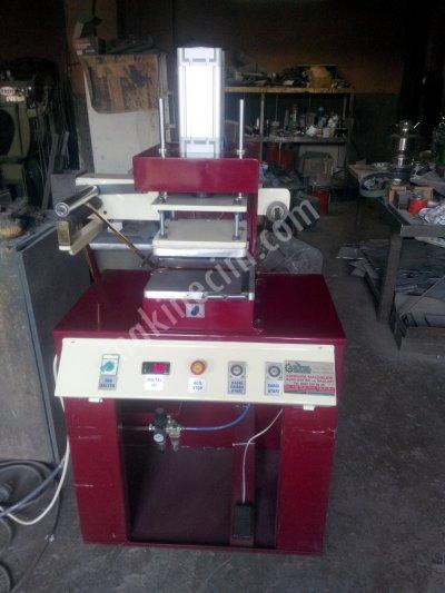 Sıcak Klişe Varak Yaldız Baskı Makinası