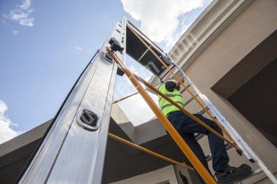 İki Parçalı İş Güvenliği Sertifikalı Mobil Alüminyum İskele