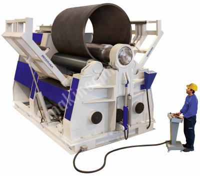 4 Valsli Hidrolik Silindir Makinesi