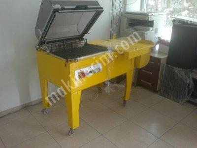 Satılık 2. El Shrink Ambalaj Makinesi Küveztipi Fiyatları Kütahya shrink makinesi,ambalaj makinesi,paketleme makinesi,manuel shrink