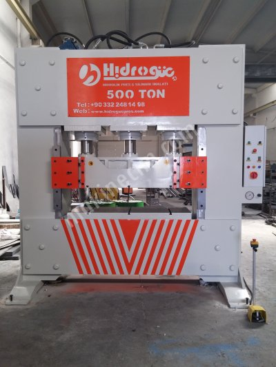 Hydraulic Press ..500 Ton Ütüleme Ve Desen Verme Presi