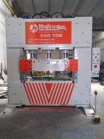 Hydraulic Press ..500 Ton Ütüleme Ve Desen Verme Presi