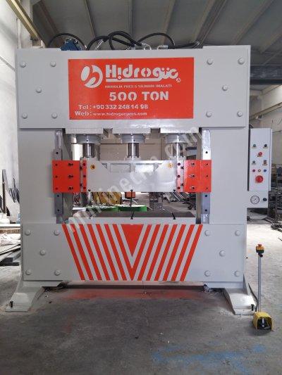 Satılık Sıfır Hydraulic Press ..500 Ton Ütüleme Ve Desen Verme Presi Fiyatları  ütüleme presi,desen presi,desen verme presi,hidrolik pres,sıvama presi,hidrogüç