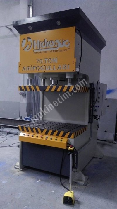 Hydraulic Press ..Hidrogüç C Tipi Sıvama Pres
