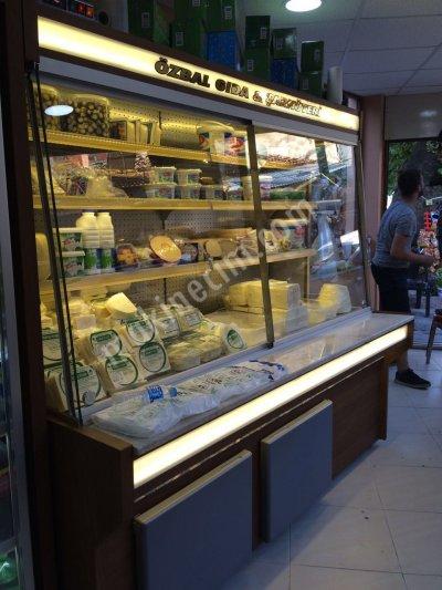 Satılık Sıfır Şarküteri reyonları Fiyatları Manisa peynir dolabı, plazma tip peynir dolabı, duvara dayamalı peynir dolabı