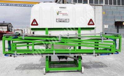 500 Lt İlaçlama Makinesi 10 Mt Kollu Tarla Tipi