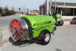 2000 Lt Turbo Atomizer Bahçe Tipi İtalyan Pompalı