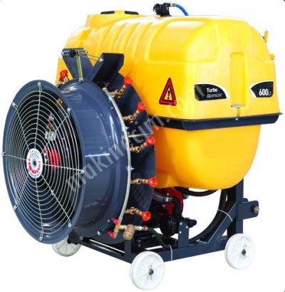 600 Lt Turbo Atomizer Bahçe Tipi 105Lik Pompalı