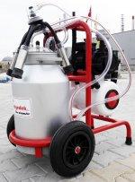 Süt Sağım Makinesi 40 Lt Aliminyum Güğüm Çift Sağımlı