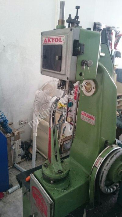 Satılık 2. El Mekikli Masuralı Fora Makinası Akyol Makina Fiyatları Adana mekikli masuralı fora makinası,akyol makina sanayi,ayakkabı dikiş makinası ayakkabı tamirci makinaları