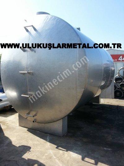 Paslanmaz Tank Süt -Su-Zeytinyag-Şarap-Gıdaya Uygun 40 Tonluk