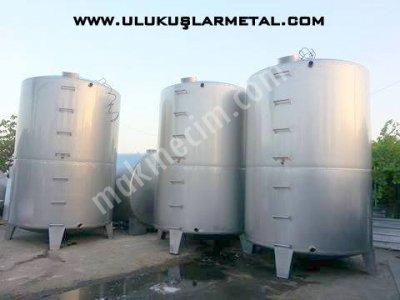 Paslanmaz Elma Suyu Tankı Mevsesuyu Portakal Depolama Tankı Üzüm Depolama  Bal Reçel Tahin