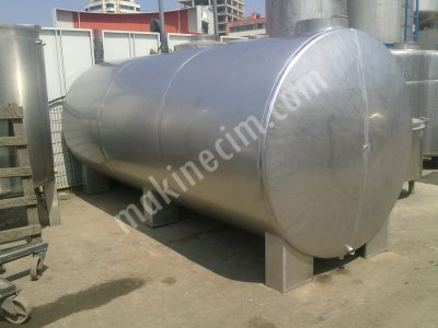 Paslanmaz Stok Depolama Tankı 15 Tonluk Krom Çelik