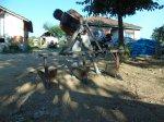 Boğaz Doldurma Pulluğu, Çizi Ve Su Kanalı Açma