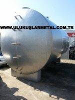 Paslanmaz Krom Çelik Tank Tuz Tankı Solvent Tankı Mazot Tankı Krom Çekik Su Tankı