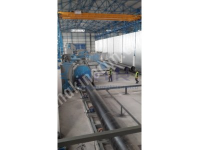 Pipe - Tube Shotblasting Machine