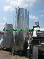 Paslanmaz Çift Cıdarlı Tank- Süt-Melas Mazot-Kimya - Zeytinyagı Tankı -Gıdaya Uygun