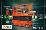 Kiralık - Makaslı Platform-Akülü Msf-S12