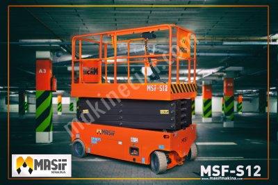 Kiralık Sıfır KİRALIK - MAKASLI PLATFORM-Akülü MSF-S12 Fiyatları Konya kiralik makasli platform,manlift,personel yükseltici,makaslı platform,satılık platform
