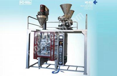 Çift Sistem  Paketleme , Ambalaj Makinası - Md-622