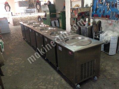Rulo Dondurma Makinesi / Tava Dondurma Makinesi
