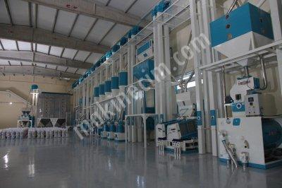 Pirinç İşleme Tesisi 2 Ton Saat Kapasiteli