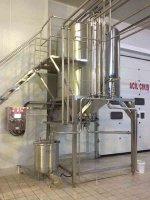 Süzme Yoğurt Proses Tankı  Otomasyonlu  Sistem