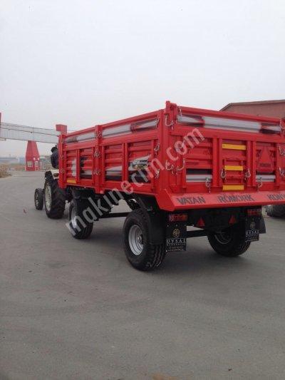 Satılık Sıfır 6 Ton Römork Fiyatları Konya romork,traktör romorku