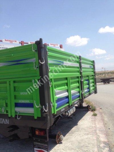 Satılık Sıfır 15 Ton Römork Fiyatları Konya traktör,motor arabası,römork,araba,çift dingil romork
