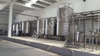 Yogurt Üretim Hattı 10 Ton Günde
