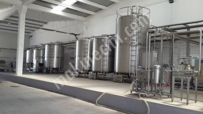 10 Ton / Day Milk Capacity Yoghurt Processing Line
