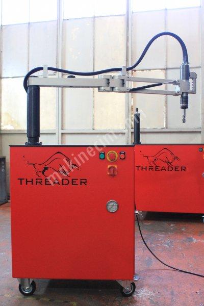 Hidrolik Kılavuz Çekme Makinesi M5   M24 Threader Hs10A1