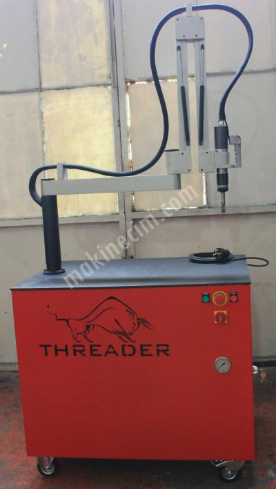 Hidrolik Kılavuz Çekme Makinesi M5   M24 Threader Hs20A1