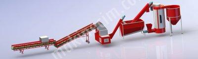 Satılık Sıfır Plastik Kırma Yikama Hattı Fiyatları Gaziantep plastik kırma makınası,plastık geri dönüşüm hattı,plastik yıkama havuzu,plastik geri dönüşüüm tesisi,www.hakmakine.com