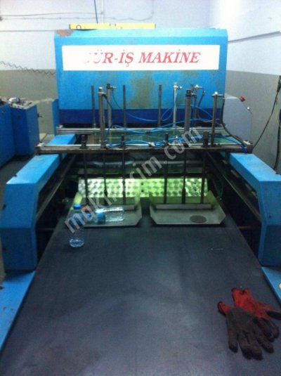 Satılık İkinci El Çift Hat Gür-iş Robot Kesim İzmir Teknik Makina Fiyatları Konya plastik,kesim,atlet,güriş