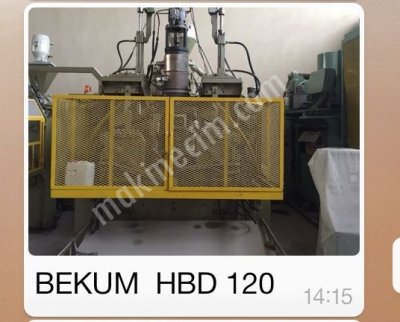 Pe  Plastik Blow Moulding Machine Bekum H-120