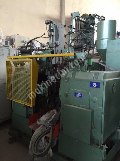 Plastik Şişirme Makinası Uniloy Comec ( İtalyan )  0-900 Gr Pe 15000 Adet / Gün