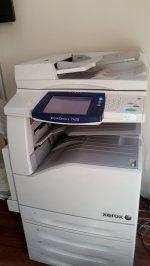 Xerox Workcentre 7428 Renkli Fotokopi Makinesi (Numaratör 80 Binde)