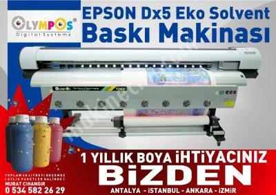 Olympos Sky Epson Dx5 Dijital Baskı Makinesi