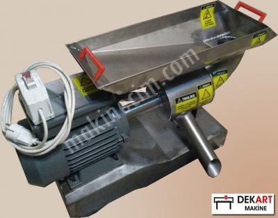 Dekart Dks-16 Paslanmaz Salça Çekme Makinası ( Ev Tipi, Yüksek Kapasiteli)